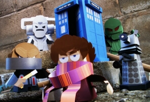 Make your own 3D paper toys at Scifi Wales