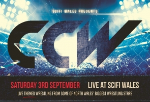 Conwy County Wrestling coming to Scifi Wales