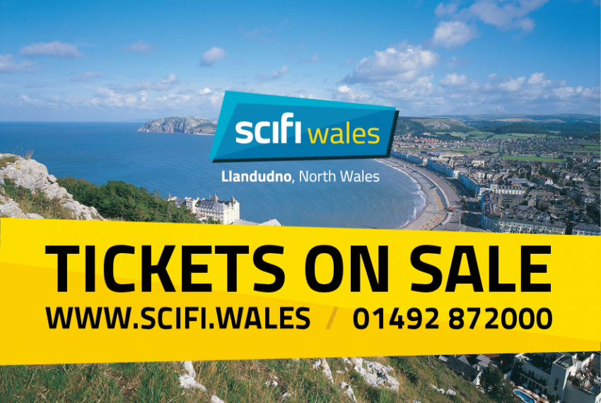 Tickets now on sale for 2017 Scifi Wales event