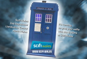 Come and visit the TARDIS at Scifi Wales in Llandudno